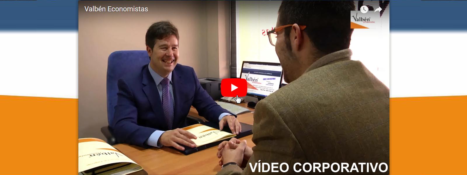Vídeo Corporativo Valbén Economistas