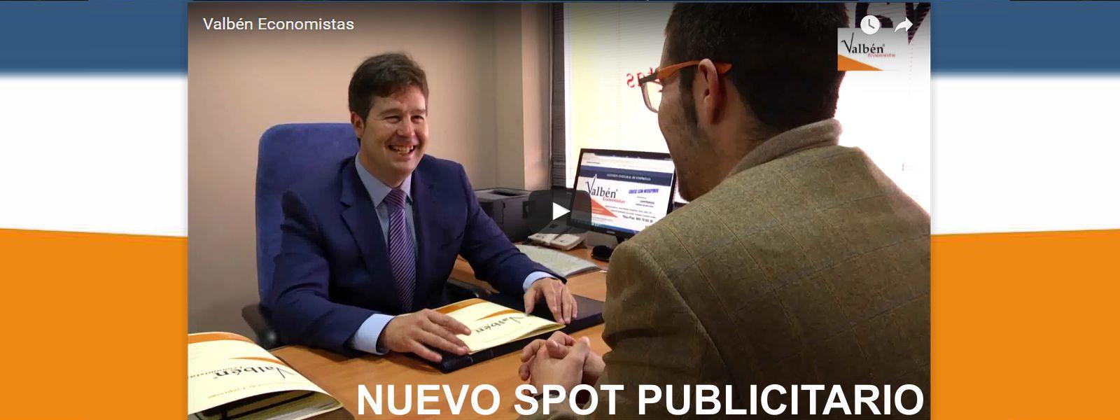 Nuevo Spot Publicitario Valbén Economistas